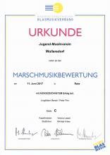 Marschmusikbewertung 2017 in Retz